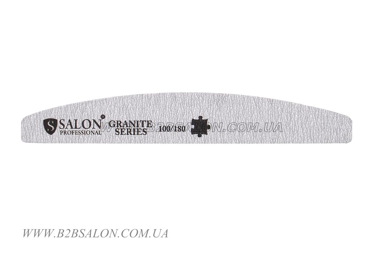 Пилка 100/180 Salon Professional лодочка