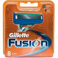 Сменные кассеты Gillette Fusion 8шт упаковка