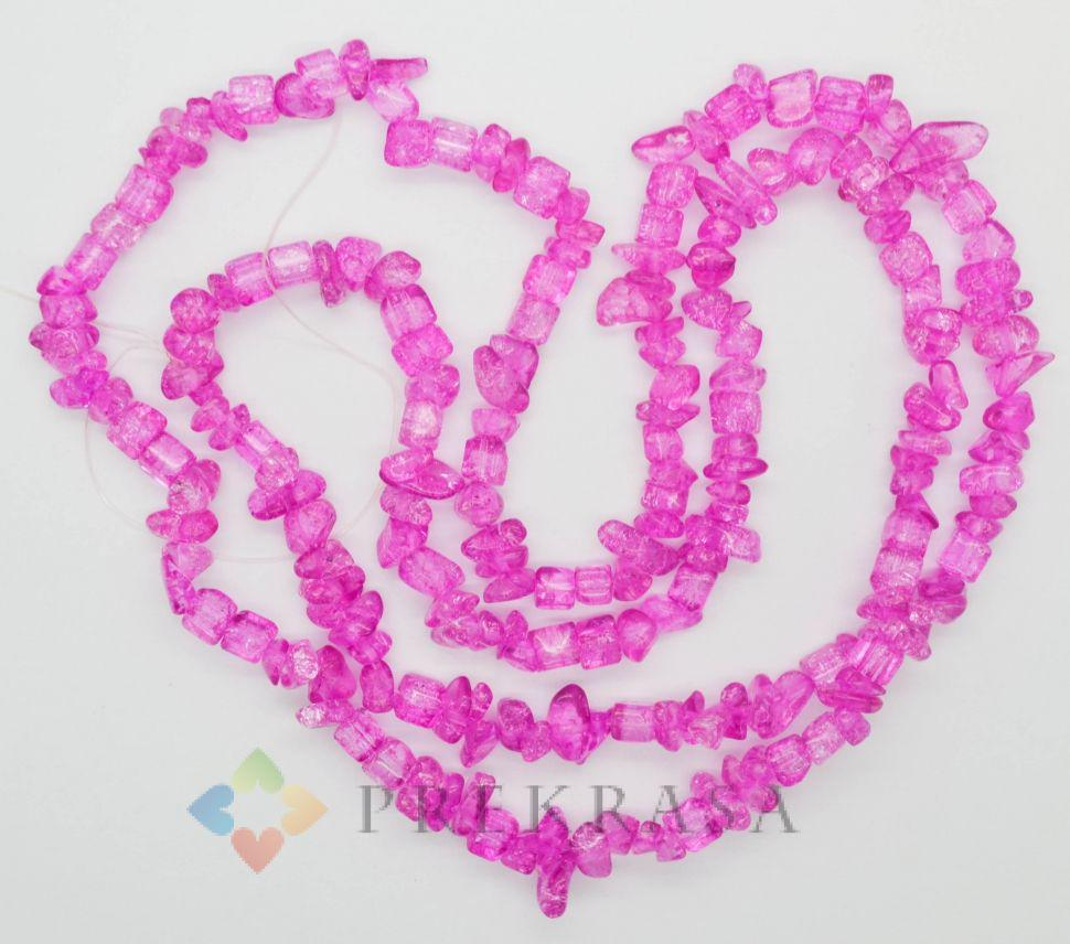 """Сколы """"хрусталь"""" розовые, 90см."""