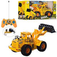 Стройтехника 35 см трактор грейдер на радиоуправлении 8895 B