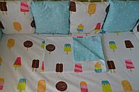 Детское постельное белье мороженное