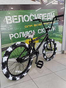 "Велосипед BMX 20"" STLN-X-FCTN COLLABORATION рама 20.25"" чорний/матовий SKD-30-39 matte black"