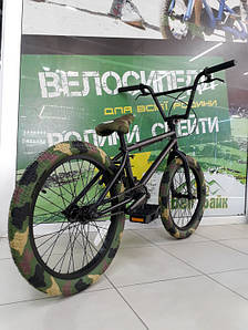 "Велосипед BMX 20"" STLN-X-FCTN COLLABORATION matte urban рама 20.25"" чорний/матовий SKD-05-59"