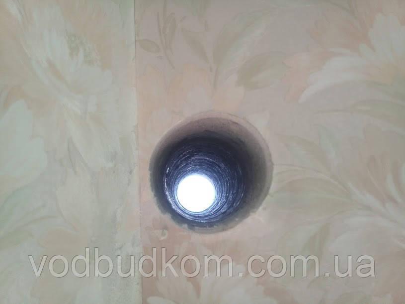 Алмазне свердління буріння отвору під кондиціонер