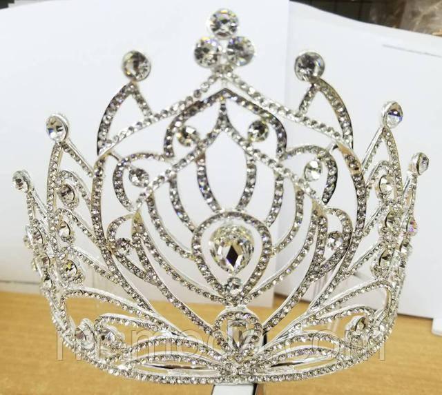 Бижутерия RRR свадебные высокие короны оптом.