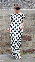 Платье макси свободный силуэт большие размеры, фото 1