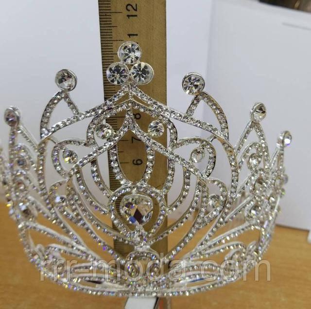 Шикарные высокие свадебные короны. Эксклюзивная свадебная бижутерия оптом