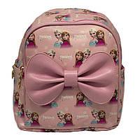 "Детский рюкзак ""FROZEN"" 2 Цвета Розовый(Размер 22x21x11 см.)"