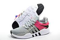 Кроссовки женские  в стиле Adidas EQT Support ADV, Серый/Розовый