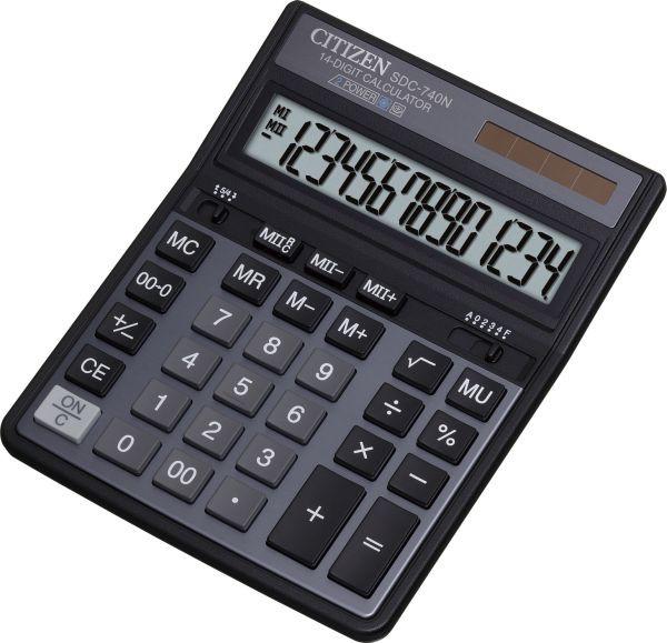 Калькулятор Citizen SDC-740N бухгалтерский 14р.