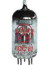 Лампа для гитарного усилителя JJ ELECTRONIC ECC81 (12AT7)
