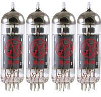 Лампа для гитарного усилителя JJ ELECTRONIC EL84 (подобранная 4-ка)