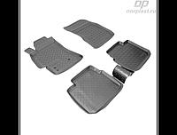 Коврики в салон  Subaru Outbaск (03-10)\Legacy SD (03-10) (полиур., компл - 4шт) (NORPLAST)