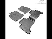 Коврики в салон  Toyota LC-Prado 120 (02-10)\Le-GX 470 (02-09) (полиур., компл - 4шт) (NORPLAST)