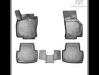 Коврики в салон  Volkswagen Passat B8 (15-) (полиур., компл - 4шт) (NORPLAST)
