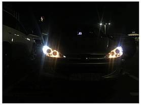 Установка альтернативной оптики на автомобиль Peugeot 206  2