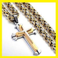 """Крест и цепь """"Steel Rage"""""""