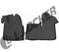 Коврики в салон автомобиля Renault Master (11-) передние 3D, Lada Locker