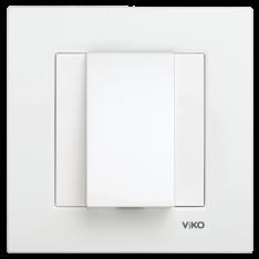 Заглушка для виведення кабелю VIKO Meridian Білий, фото 2