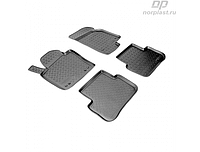 Коврики в салон  Volkswagen Passat CC (08-11) (полиур., компл - 4шт) (NORPLAST)