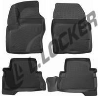 Коврики в салон Ford Kuga II (12-) 3D, Lada Locker
