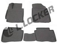Автомобильные коврики Kia Rio (11-) 3D, Lada Locker