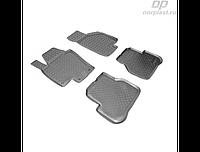 Коврики в салон  Volkswagen Passat B7 (11-) (полиур., компл - 4шт) (NORPLAST)