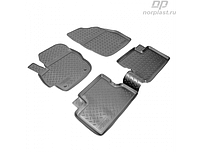 Коврики в салон  Mazda 3 (09-13) (полиур., компл - 4шт) (NORPLAST)