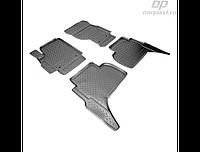 Коврики в салон  Volkswagen Amarok (10-) (полиур., компл - 4шт) (NORPLAST)