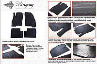 Коврики в салон автомобиля Fiat Punto 06 (Фиат Пунто) (2 шт) передние, Stingray