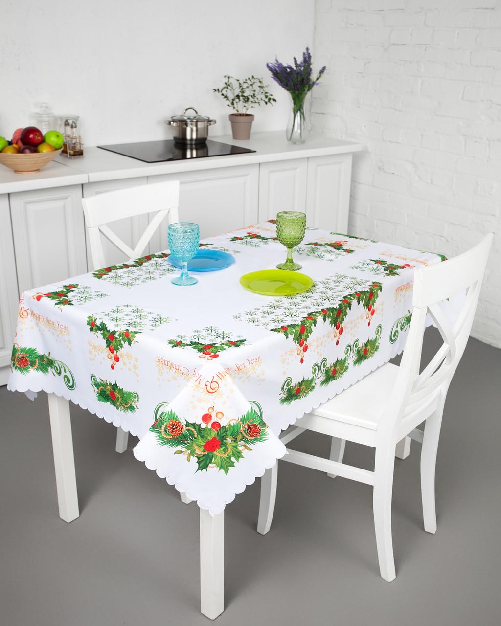 Скатерть для кухонного стола праздничная