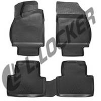 Автомобильные коврики Opel Zafira C (12-) 3D, Lada Locker