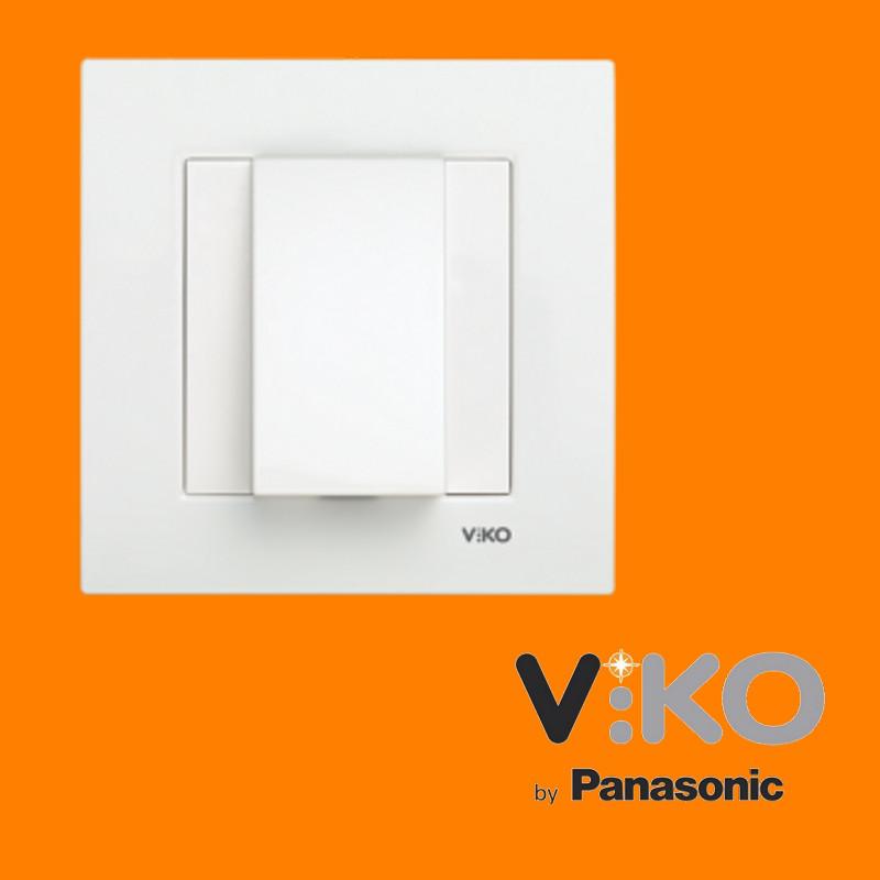 Заглушка для виведення кабелю VIKO Meridian Білий