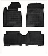 Коврики в салон Hyundai Santa Fe 2012 - черный, кт-4шт