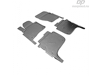 Коврики в салон  Volkswagen Touareg (10-) (полиур., компл - 4шт) (NORPLAST)