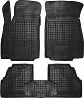 Коврики в салон Chevrolet Tracker 2013-  черный, кт - 4шт