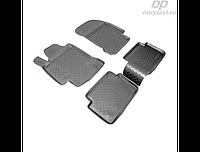 Коврики в салон  Renault Laguna (07-10) (полиур., компл - 4шт) (NORPLAST)