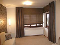 Ткань римских штор