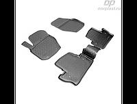 Коврики в салон  Volvo S60 (10-) (полиур., компл - 4шт) (NORPLAST)