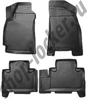 Коврики в салон Geely Emgrand X7 (11-) 3D, Lada Locker