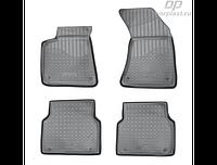 Коврики в салон  Audi A8 (D4,4H) (10-) (полиур., компл - 4шт) (NORPLAST)
