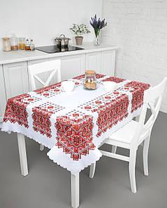 Скатерть для обеденного стола праздничная