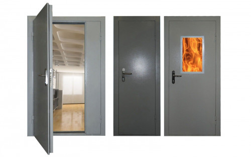 Двери противопожарные ЕІ-60 мин