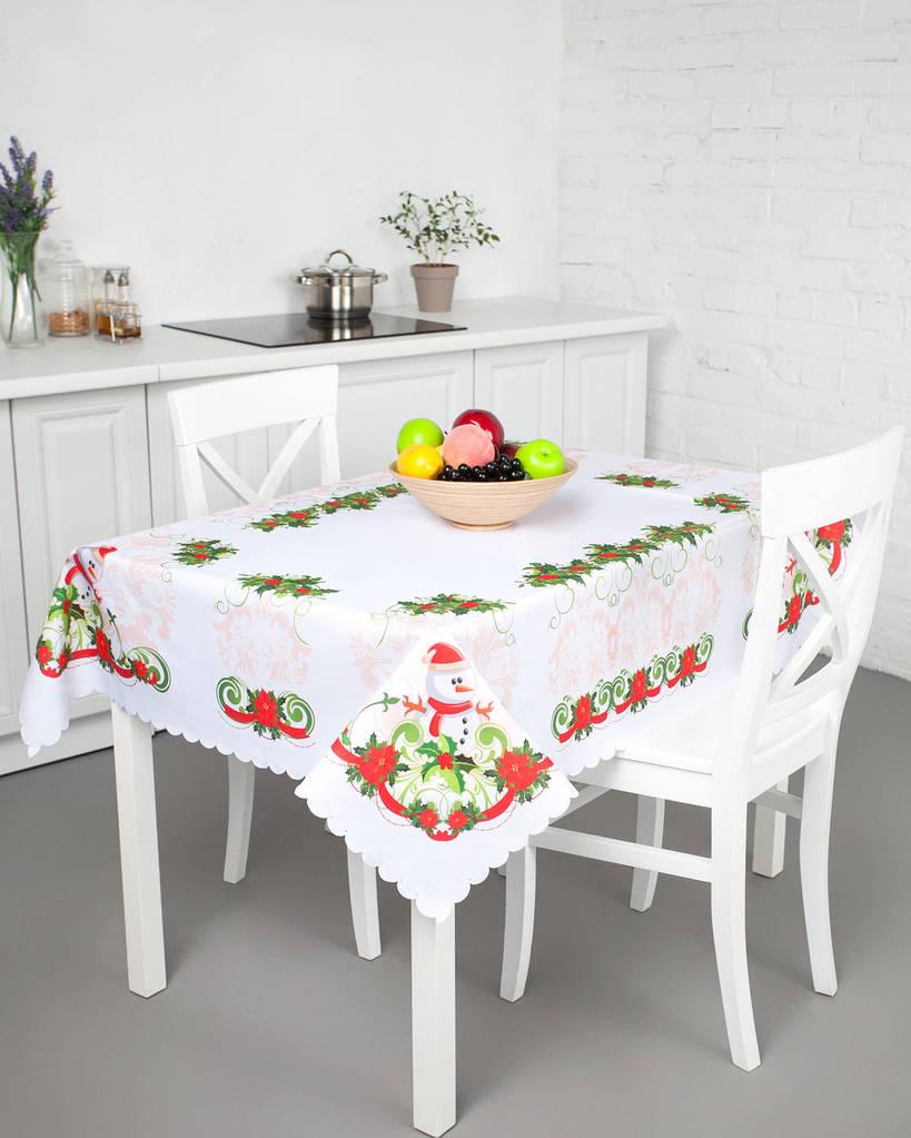 Скатерть для кухонного стола красивая