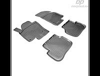Коврики в салон  Volkswagen Passat CC (12-) (полиур., компл - 4шт) (NORPLAST)
