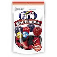 Желейные конфеты  без глютена Mures et Framboises (малинки) Fini  Испания 180г