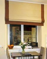 "Модель римских штор ""Призма""-крепление на стену, фото 1"