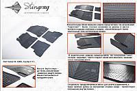 Автомобильные коврики Fiat Doblo 10 (Фиат Добло) (4 шт), Stingray