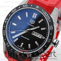 Мужские часы Tag Heuer Connected Steel-Red