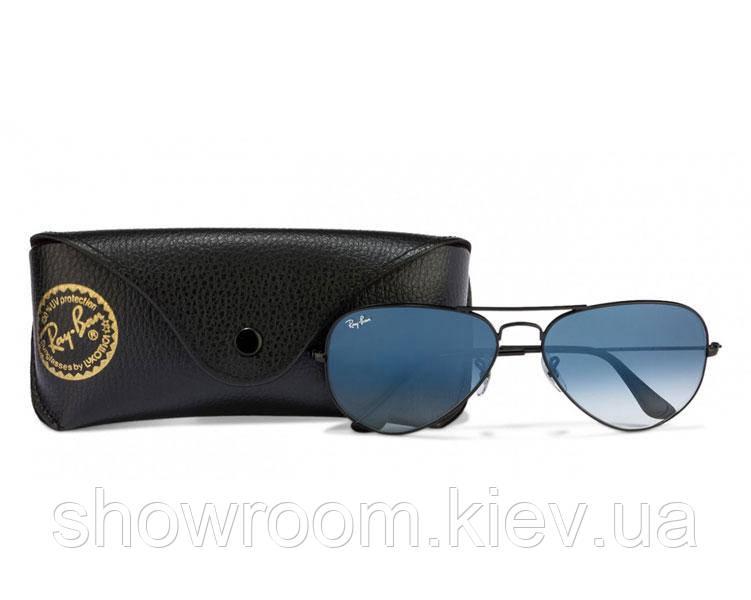 Женские солнцезащитные очки в стиле RAY BAN aviator 3025 (002/3F) Lux
